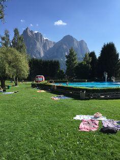 Lido di telfen #mountain #alpedisiusi #swimmingpool