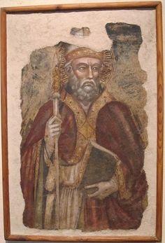 Spinello Aretino (bottega) - San Donato - 1350 ca. - Museo Nazionale d'Arte Medievale e Moderna, Arezzo