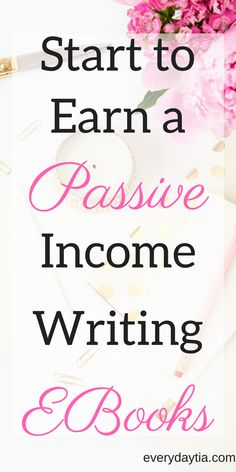 Stop waiting over a month for affiliate payouts. Create your own reliable stream of income writing ebooks! This guide contains multiple tutorials walking you through the ENTIRE creative process of writing an ebook. - Everydaytia.com