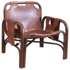 Arne Norell Style Safari Chair