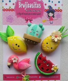Polymer Clay Kawaii, Fimo Clay, Polymer Clay Charms, Polymer Clay Projects, Polymer Clay Art, Clay Crafts, Polymer Clay Jewelry, Felt Crafts, Diy And Crafts
