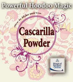 Cascarilla Powder - The Hoodoo miracle dust of protection, cleansing and repellant of malevolent energies
