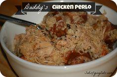 Daddy's Chicken Perlo (Pileau) | Satisfying Eats
