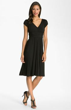 Suzi Chin for Maggy Boutique Ruched Matte Jersey Dress available at #Nordstrom