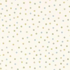 Emma Bridgewater Polka Dot Duck Egg/Ochre Curtain Fabric - : Gordon Smith Ltd, Cookware, Tableware, Linens Soft Furnishings at Malvern's Department Store Polka Dot Fabric, Polka Dots, Sanderson Fabric, Cole And Son, Emma Bridgewater, Pottery Designs, Curtain Fabric, Occasional Chairs, Soft Furnishings