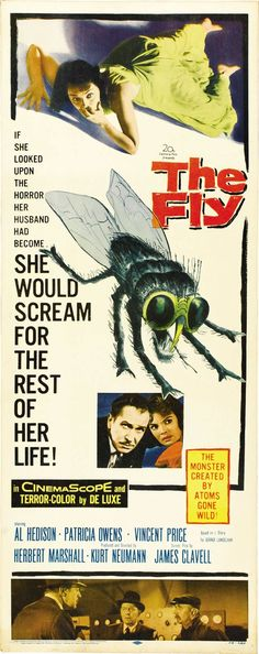 the fly 1958 poster - Google Search