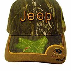Velcro Camoflauge Jeep Mossy Oak Cap