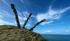 kaitiaki sculpture by Chris Booth
