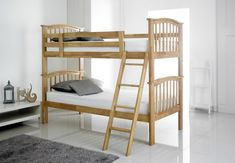 Bargain Prices On Artisan Oak Single Wooden Bunk Bed. Have Your Artisan Oak Single Wooden Bunk Bed delivered by bedstardirects experienced delivery team. Oak Bunk Beds, Wooden Bunk Beds, Single Bunk Bed, Barbican, Nursery, Room, Facts, Furniture, Kids