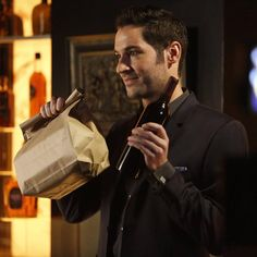 luciferonfox#Lucifer knows how to turn on his irresistible charm.