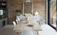 landhausmoebel einrichtung landhausstil esszimmer modern rustikale akzente