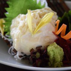 Yuba (Soy milk skin) Sashimi included vegetarian course  湯葉刺し ベジタリアンコースの一品  #kaiseki #cuisine #kitaohji #yuba #sashimi #soymilk #soymilkskin #vegetarian #healthy #湯葉 #刺身 #ベジタリアン #japanesefood #instafood #foodpic #foodporn #japanesecuisine #authenticjapanesecuisine #dinner #yum #yummy #thonglor #bangkok #sukhumvit #อาหารญ by takashi.kitahara