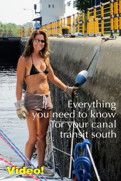 Everything you need to know for your canal transit south.