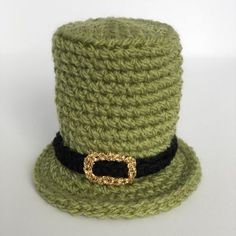 St. Patrick's Day Leprechaun's Hat Egg Cosy – Plumalicious