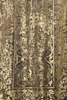 "Front drape, post-conservation 94 PHTG. / Saint Ginés de la Jara; Luisa Roldán (called ""La Roldana"") (Spanish, 1652 - 1706), Polychromer: Tomás de Los Arcos (Spanish, born 1661); Spain; about 1692; Polychromed wood (pine and cedar) with glass eyes; 175.9 x 91.9 x 74 cm (69 1/4 x 36 3/16 x 29 1/8 in.); 85.SD.161"