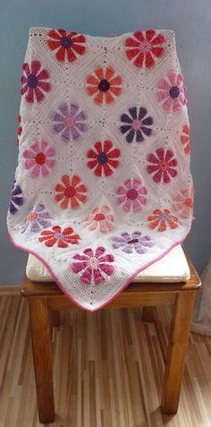 Krochet Krystal's daisy square pattern