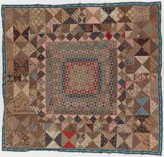 Making the Australian Quilt | NGV Elizabeth SMITH Coverlet (c. 1830-1850s) cotton 248.0 x 263.0 cm