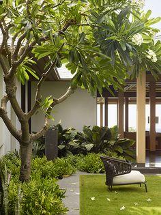 Big Island Retreat — Strata Landscape Architecture Tropical Garden Design, Tropical Landscaping, Modern Landscaping, Garden Landscaping, Landscape Architecture Design, House Landscape, Garden Landscape Design, Backyard Patio, Beautiful Gardens