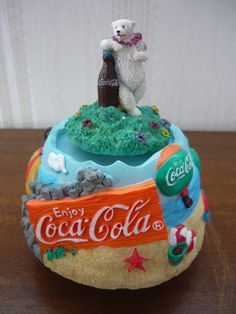 Coca Cola Collectible WindUp Music Box by Chaukkeun on Etsy, $55.00