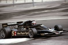 The Lotus 79 and Mario Andretti combined for the championship in No American has won a race since. Lotus F1, F1 Racing, Road Racing, Classic Motors, Classic Cars, Formula 1, Mario Andretti, F1 Drivers, Indy Cars