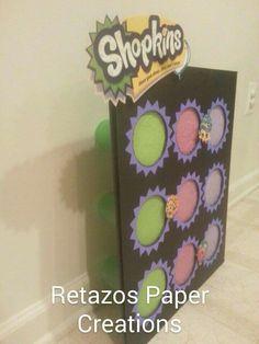 Shopkins Punch box From: Retazos Paper Creations *handmade