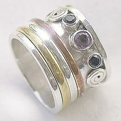 """""""Bela"""" Meditation Ring from Cahoia"""
