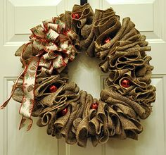 Love this wreath! From The Dishy Decorator