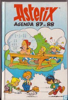 Bandes dessinées - Astérix - Asterix Agenda 87-88