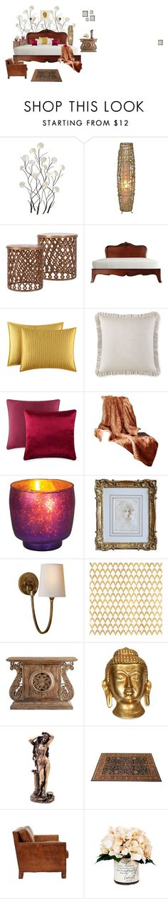 Untitled #2 by vaishnavilal on Polyvore featuring interior, interiors, interior design, home, home decor, interior decorating, Cyan Design, Visual Comfort, J. Queen New York and Waterford