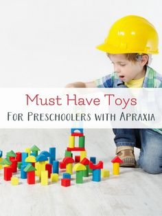 toys to help with speech therapy at home