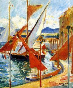 1905 Henri Manguin Le 14 Juillet À St-Tropez Coté Gauche by BoFransson, via Flickr