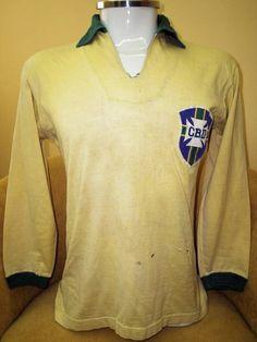 Garrincha's 1962 World Cup final shirt #garrincha #football #brazil #memorabilia