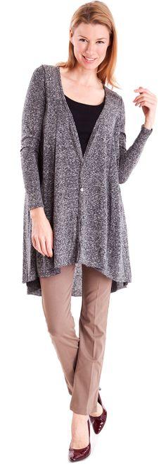 Leopard Trim Cardigan #formal #leopardprint #trim  #blackcardigan #classy #officewear #elegantcardigan #womenscardigan #whatsnew #shoponline #clotheseffect