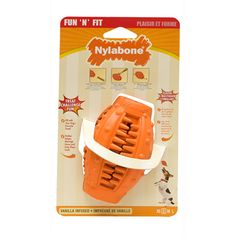 Fun 'N Fit Treat Holder Cone - http://www.nylabone.com/product-finder/by-product-type/fun-n-fit-treat-holder-cone.htm
