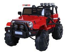 CarsToys: Jeep Adventure 12v Rossa