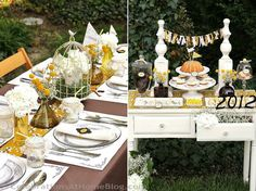 {party design & hosting tips} shabby chic party