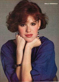 Molly Ringwald - I <3 her. She is my style icon.