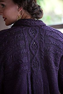 Nora's Sweater by Pam Powers - found in Interweave Knits, Winter 2009
