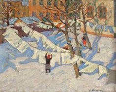 Kolesnik Vladimir :: paintings of the 1950-th | Nostalgie :: art gallery of the socialist realism era