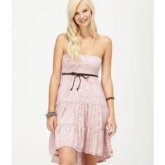 Roxy Lake Front Dress ($40) ❤ liked on Polyvore