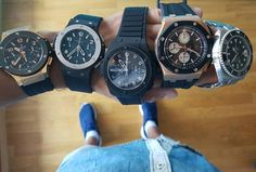What is your choice for today ? ⌚⌚⌚⌚⌚ #hublot #audemarspiguet #rolex #watch #watches #timepiece #wristwatch #picoftheday #watchaddict #wristcandy #wristgame #horology #dailywatch #watchpic #watchgeek #watchesofinstagram #instawatch #watchmaking #menswatch #luxurywatch #hautehorlogerie #mechanics #swisswatches #wristshot #watcheslovers #lifestyle #billionaire #champagne #cigar #money @todayswatchfashion,