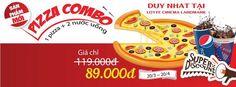 Khuyến mãi 2015 Lotte Cinema Landmark giàm giá Pizza Combo chỉ 89k
