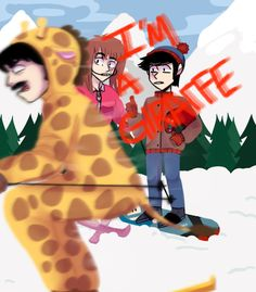 The skiing video i'm a giraffe vine is funny every time lol South Park Funny, South Park Memes, South Park Anime, South Park Fanart, Style South Park, South Park Characters, Stan Marsh, Creek South Park, Kawaii