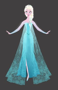 Frozen | Elsa by Brittney Lee