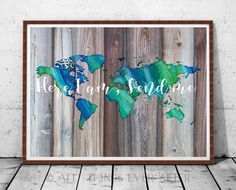 JW | SKE Gift | Here I am Send Me | Printable | Pioneer | Present | Print | Wall Art | Bible Verse Quote | Map | wood | Farm Style | 0072 by AllThingsEverAfter on Etsy