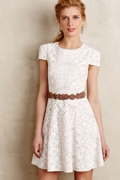 Bruxelles Lace Dress - anthropologie.com #anthroregistry