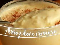 Imagem da receita Arroz doce cremoso da Taquette Rice Desserts, Portuguese Desserts, Puerto Rican Recipes, Empanadas, Easy Cooking, Love Food, Food To Make, Deserts, Donuts