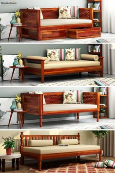 Sofa Bed Design, Living Room Sofa Design, Home Room Design, Dream Home Design, My Living Room, Home Interior Design, Home Decor Furniture, Furniture Design, Bed Furniture
