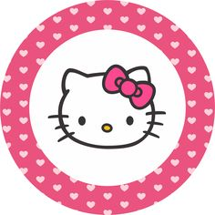Image result for hello kitty TRANSPARENT CIRCLE card printable PNG