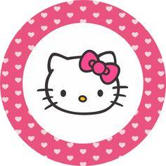 Rosto da Hello Kitty  arquivo em PNG